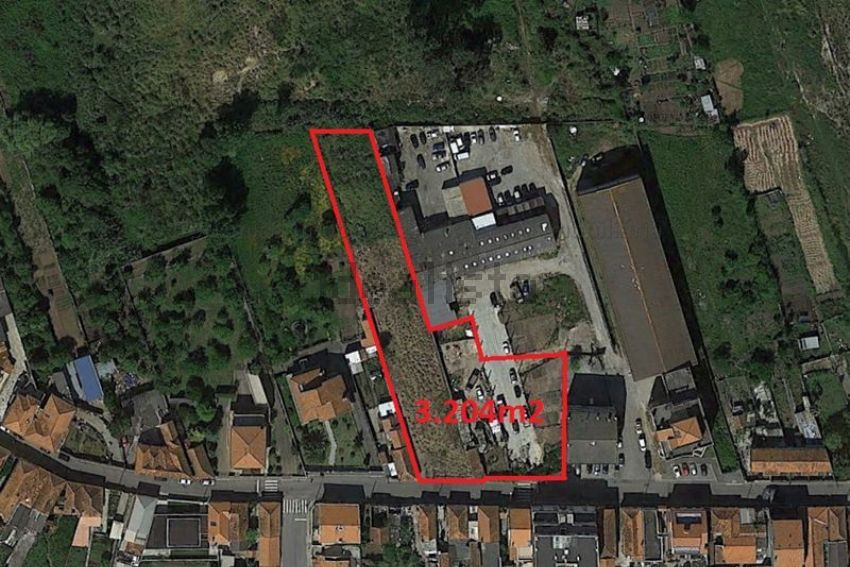 Land plot for sale in Madalena Vila Nova de Gaia